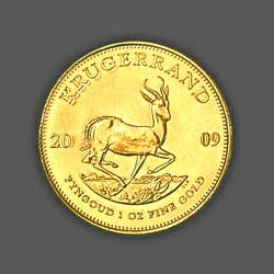 220 Krugerrands GOLD - 2009 back